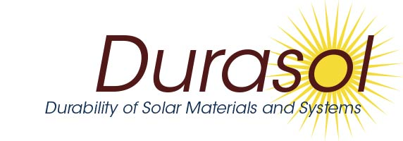 Logo Durasol Platform for solar materials and systems durability